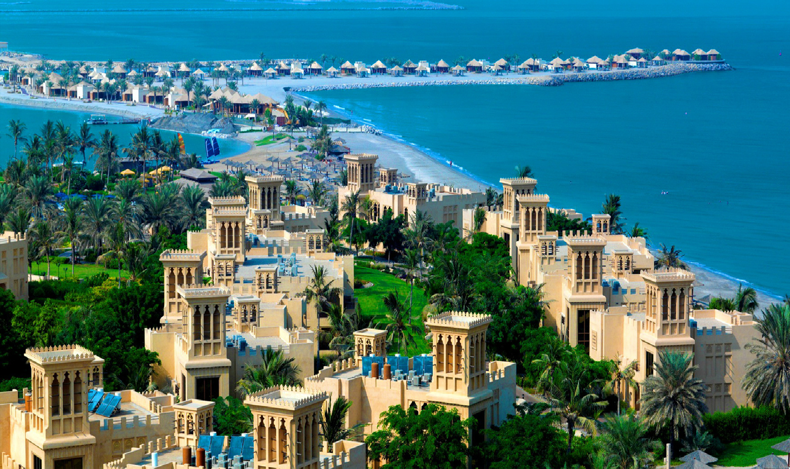 Рас-аль-Хайма - один из самых красивых эмиратов ОАЭ!
